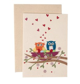 TTV USA Owls In Love Card - Philippines