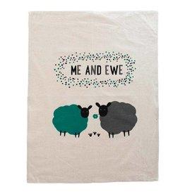 TTV USA Me And Ewe Tea Towel