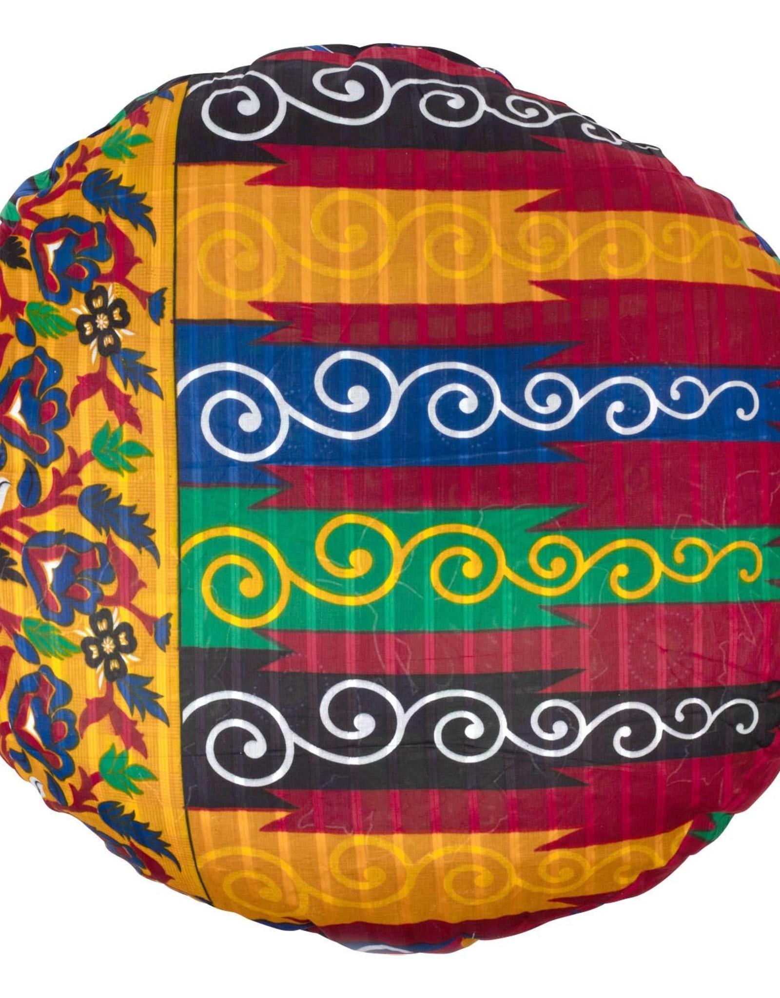 TTV USA Upcycled Sari Dog Pillow (Various Colours/Patterns)