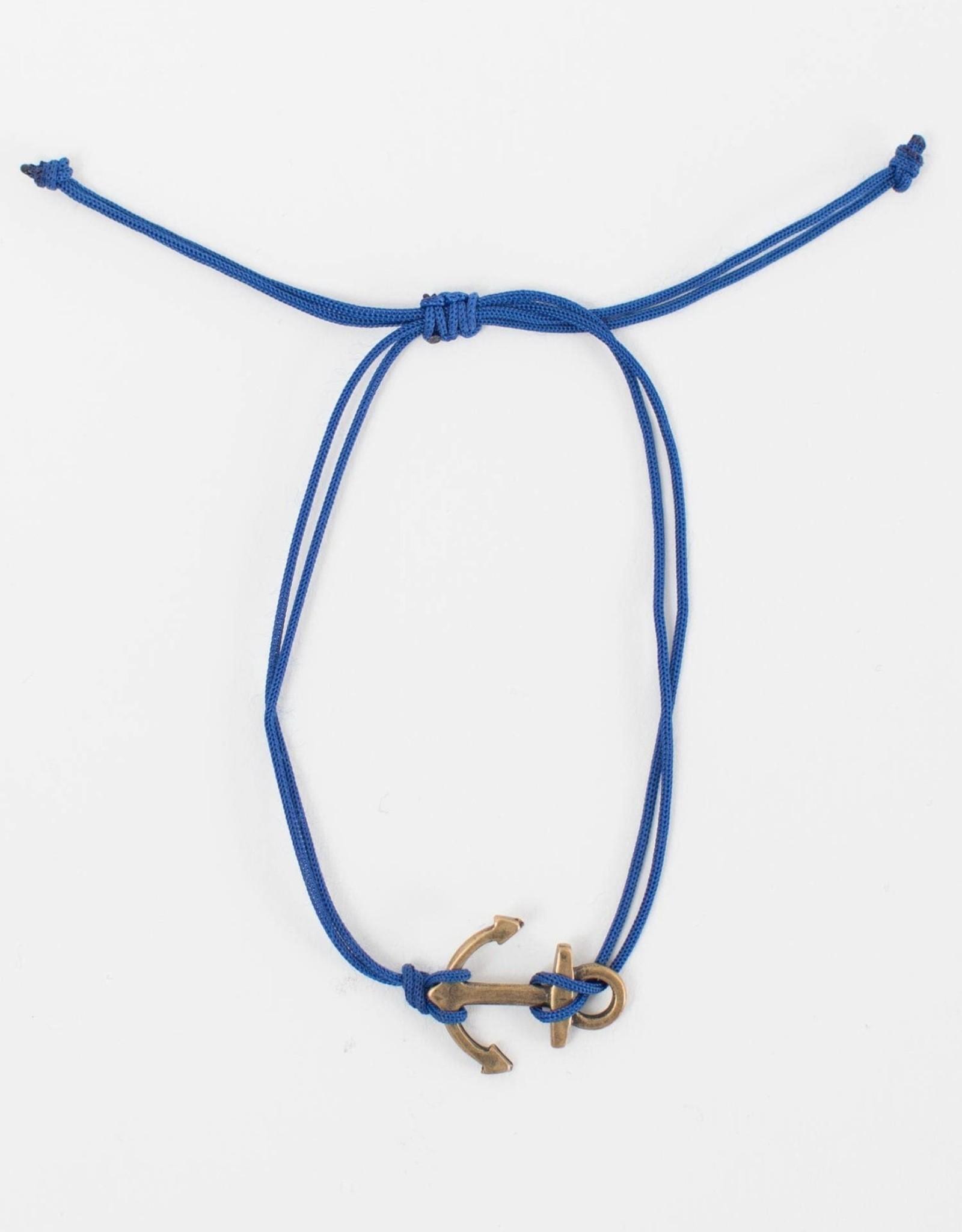 TTV USA Anchor Charm Bracelet