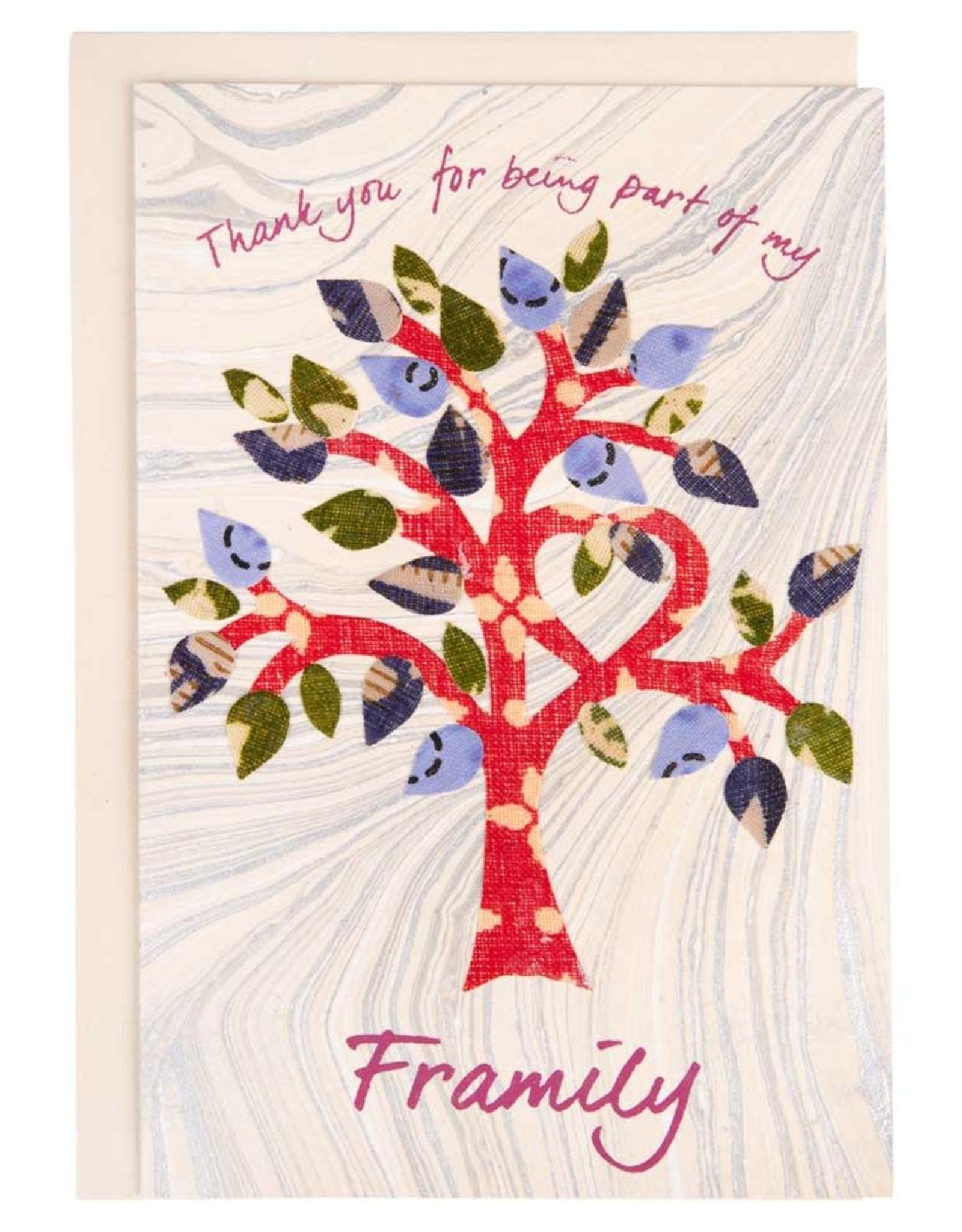 "TTV USA ""Framily"" Tree Card - Bangladesh"