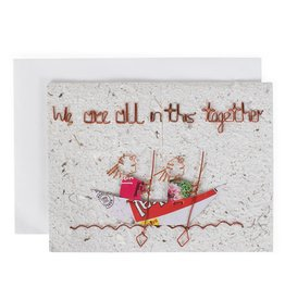 TTV USA In This Together Greeting Card