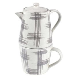TTV USA Stackable Teapot & Mug