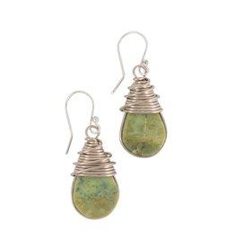 TTV USA Serpentine Wrap Earrings