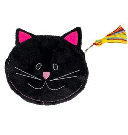 TTV USA Black Cat Coin Purse