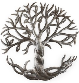 TTV USA Roots & Leaves Cut Metal Art