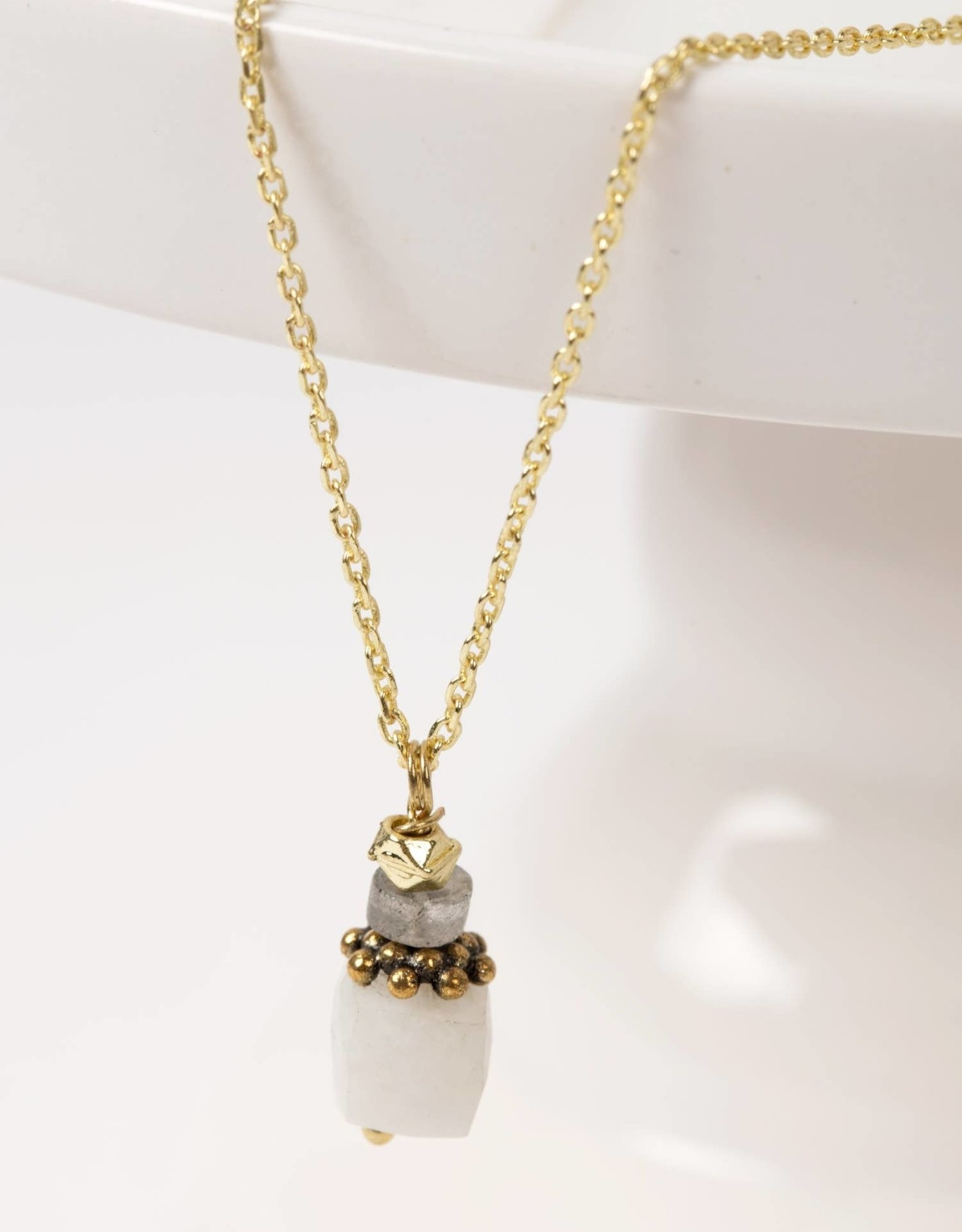 TTV USA Stacking Stones Necklace