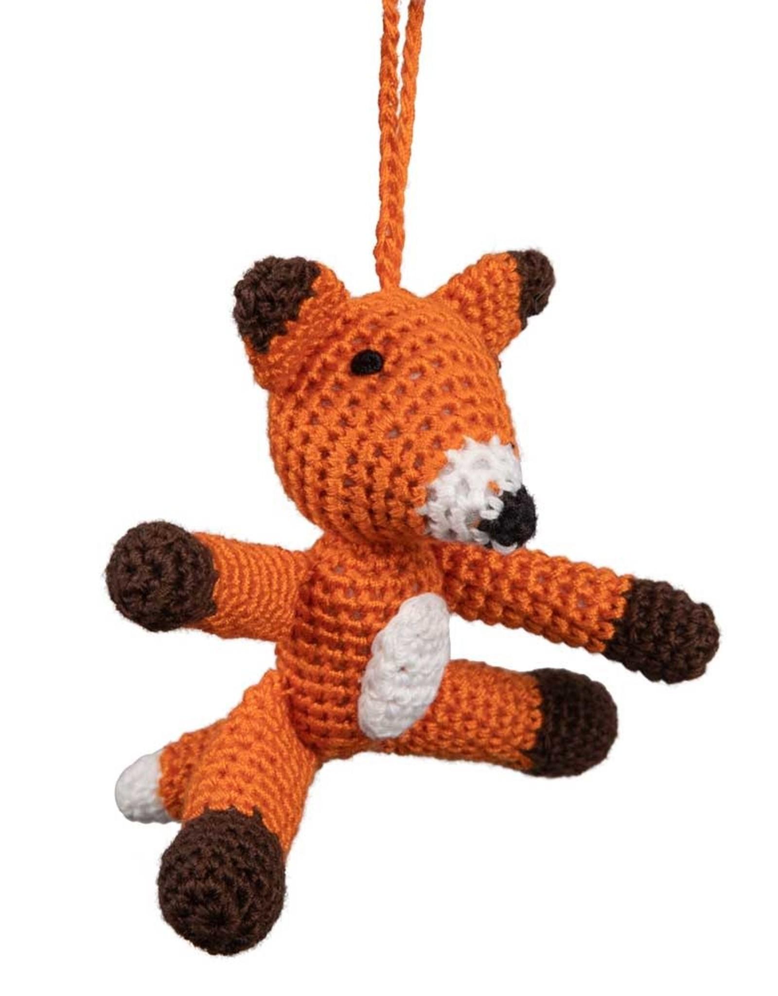 TTV USA Baby Fox Ornament