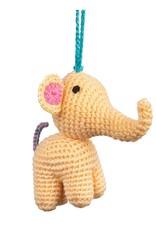 TTV USA Baby Elephant Ornament