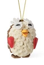 TTV USA Quilled Owl Ornament - Vietnam