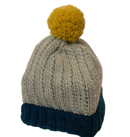 Wool Hat with Popom