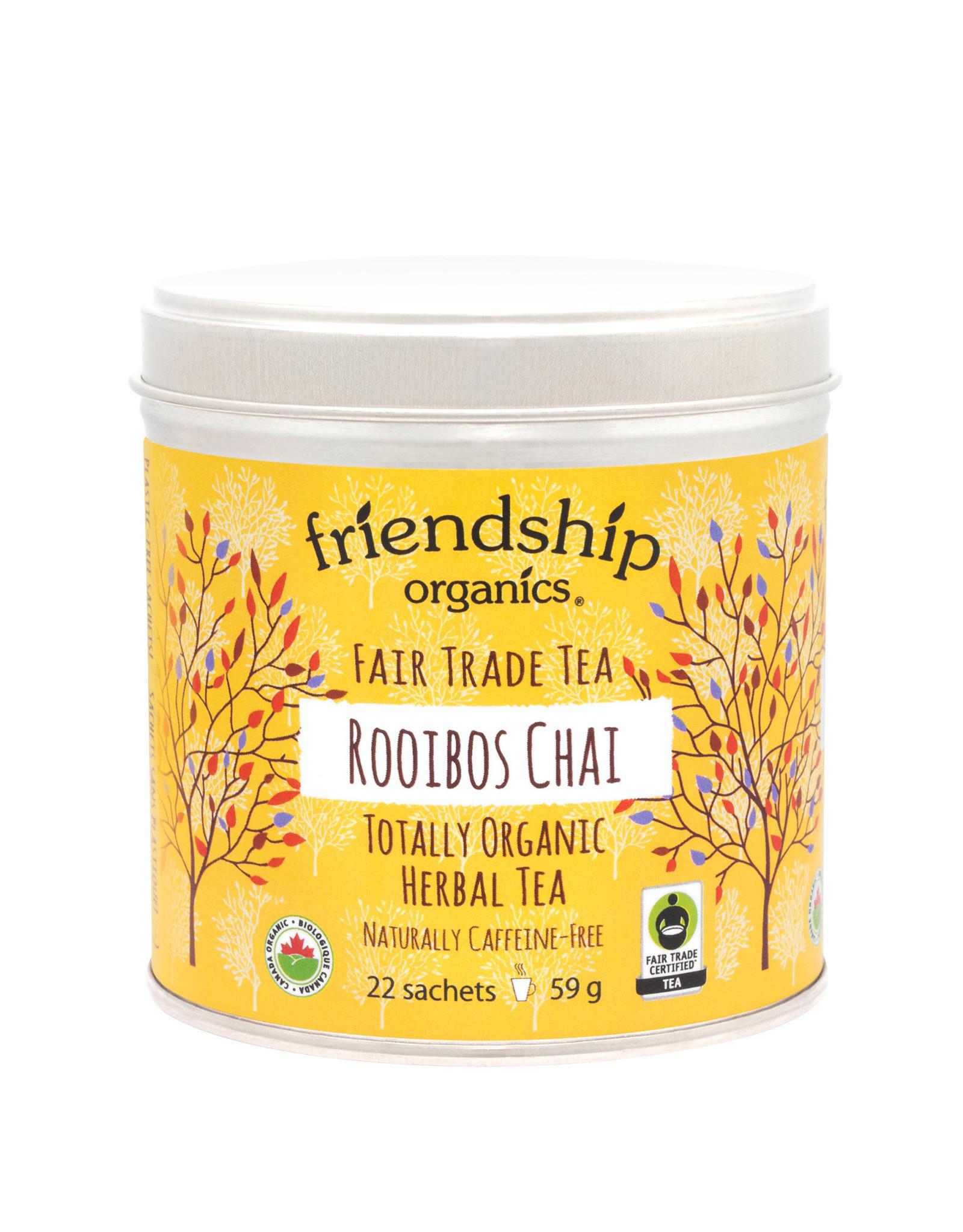 Friendship Organics Tea Friendship Rooibos Chai 59g 22 sachets