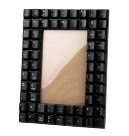 TTV USA Picture Frame Recycled Keyboard