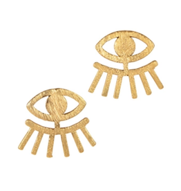 TTV USA Earrings, Clear Vision Post