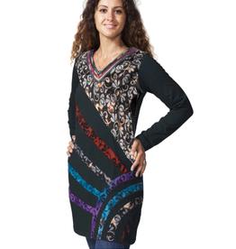 Black Ranya Tunic/Dress (Medium)