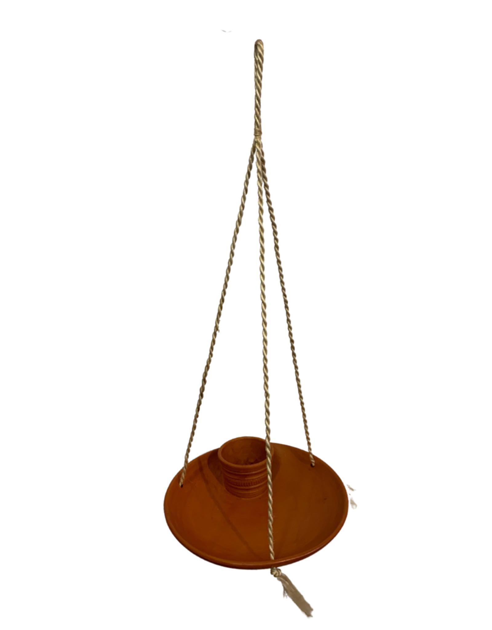 Bowl And Dish Terracotta Bird Feeder