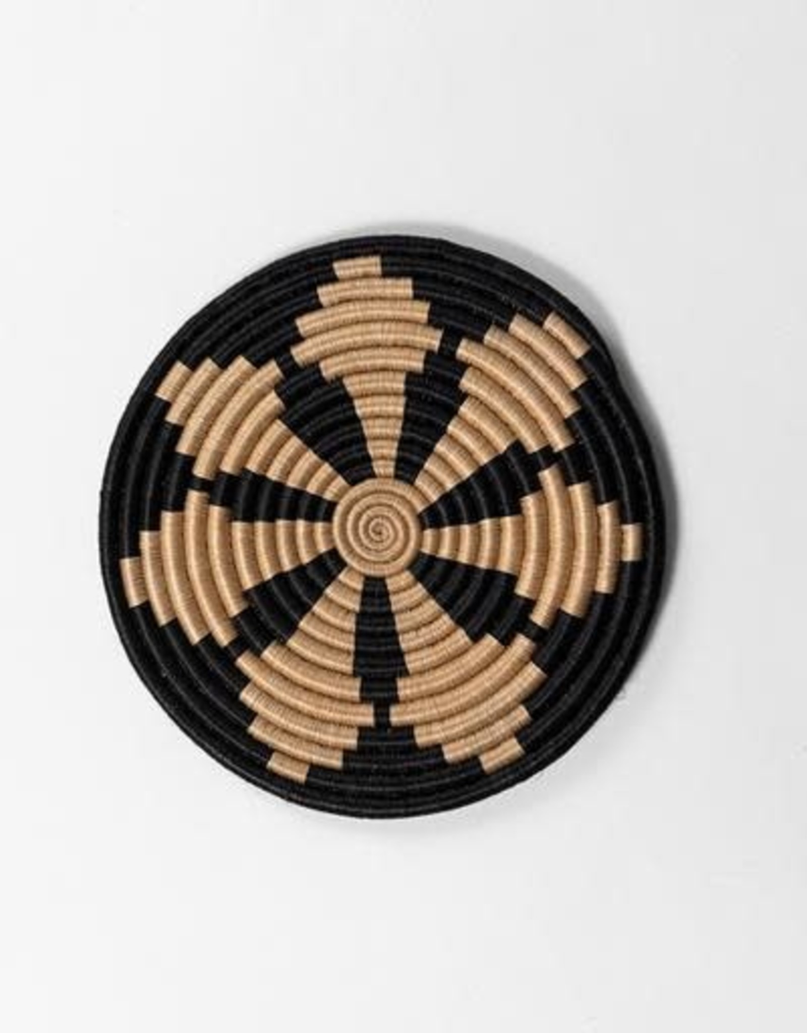 Soko Home Hand Woven Trivet- Round Table - Rwanda