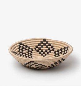"Soko Home Bariku Bowl- Tea with Black- 12"""