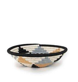 Soko Home Boutique Diversiform Grey Bowl 12 in - Rwanda