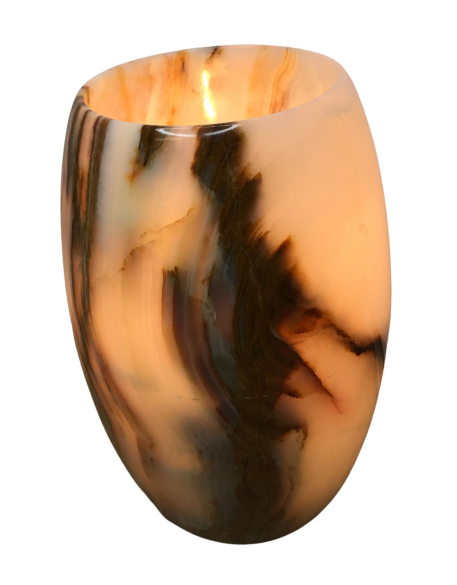 Lamp Cylinder Shape Onyx