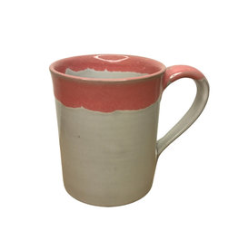 Mug Coral Drip Stoneware - Nepal