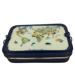 Ten Thousand Villages Tiffin World Lunch Box