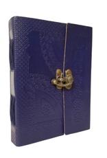Blue Beauty Embossed Journal