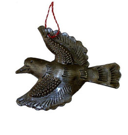Global Crafts Dove Haitian Metal Ornament