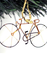 Global Crafts Bicycle Recycled Wire Ornament - Kenya
