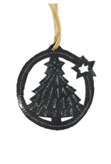 Global Crafts Christmas Tree with Star Ornament