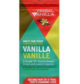Tribal Vanilla Grade A Vanilla Beans pkg 2 - Uganda