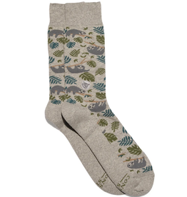 Conscious Step Socks that Protect Sloths (Large)