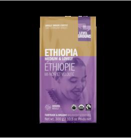 Level Ground Coffee, Ethiopia Medium & Lovely, Ground 300g