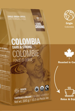 Level Ground Coffee, Colombia Dark & Strong, Ground 300g