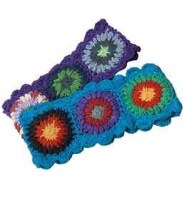 Ark imports Crochet Headband (Assorted)