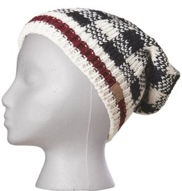 Ark imports Checker Slouch Hat White
