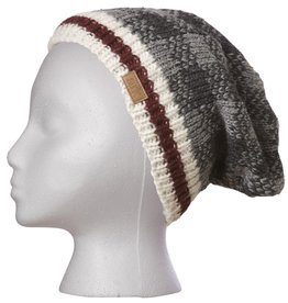 Ark imports Checker Slouch Hat Grey