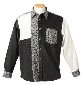 Ark imports Pascal Button Shirt White (M)