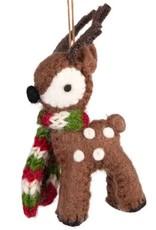 TTV USA Ornament Cuddly Reindeer - Nepal