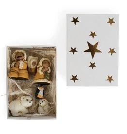 TTV USA Tiny Arctic Family Matchbox Nativity