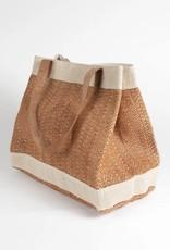 TTV USA Balmy Jute & Cotton Bag