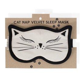 TTV USA Cat Nap Velvet Sleep Mask