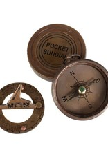 TTV USA Pocket Compass & Sundial - India
