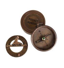 TTV USA Pocket Compass & Sundial