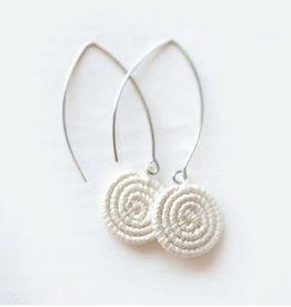 Soko Home Ziga Earrings Natural - Rwanda