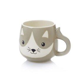Serrv Mug Little Whiskers Ceramic - Vietnam