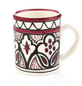 Serrv Mug Rose Jasmine Ceramic - West Bank