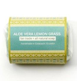 Serrv Soap Aloe Vera Lemongrass - Ecuador