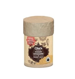 Cha's Organics Cha's Organic Ginger (Ground) 30g