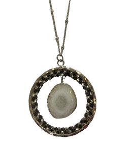 Ten Thousand Villages Stone Age Necklace - India